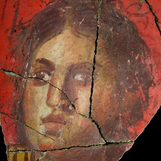 Фреска, римская вилла, I в. до н.э., Арль