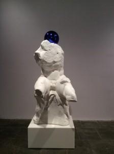 "Gazing Ball (Belvedere Torso) Jeff Koons, 2013 Exposição ""Jeff Koons: a retrospective"", Nova Iorque. Foto: MIR, 2014."