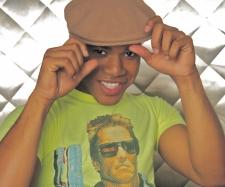 Trell Daray Terminator shirt and cap
