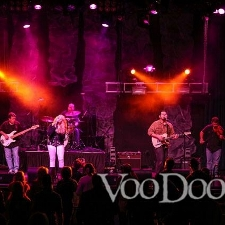Josey Milner performing at VooDoo