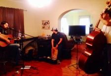 Cole Washburn rehearsing