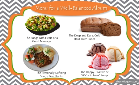 Shantell Ogden - Menu for well-balanced album