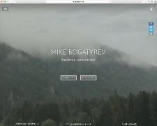 Mike Bogatyrev website 1