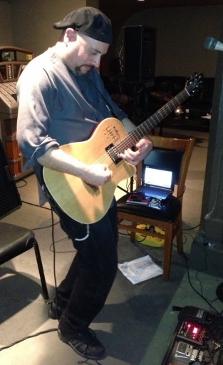 Victor Samalot rehearsing