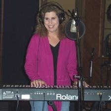 Bree Noble at Keyboard