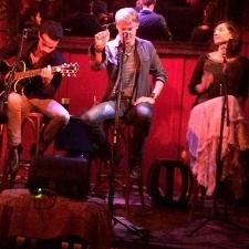 Jon Collins performing