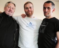 Hans Robenberg, Jake Green, Jens Simonsen