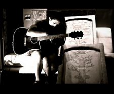 Olivia Thai guitar BW