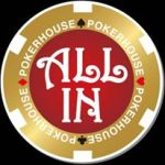 POKERHOUSE ALL IN (オールイン) ロゴ