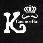 Casino&Bar K ロゴ