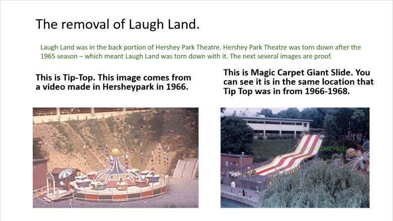 Removal of Laugh Land 001