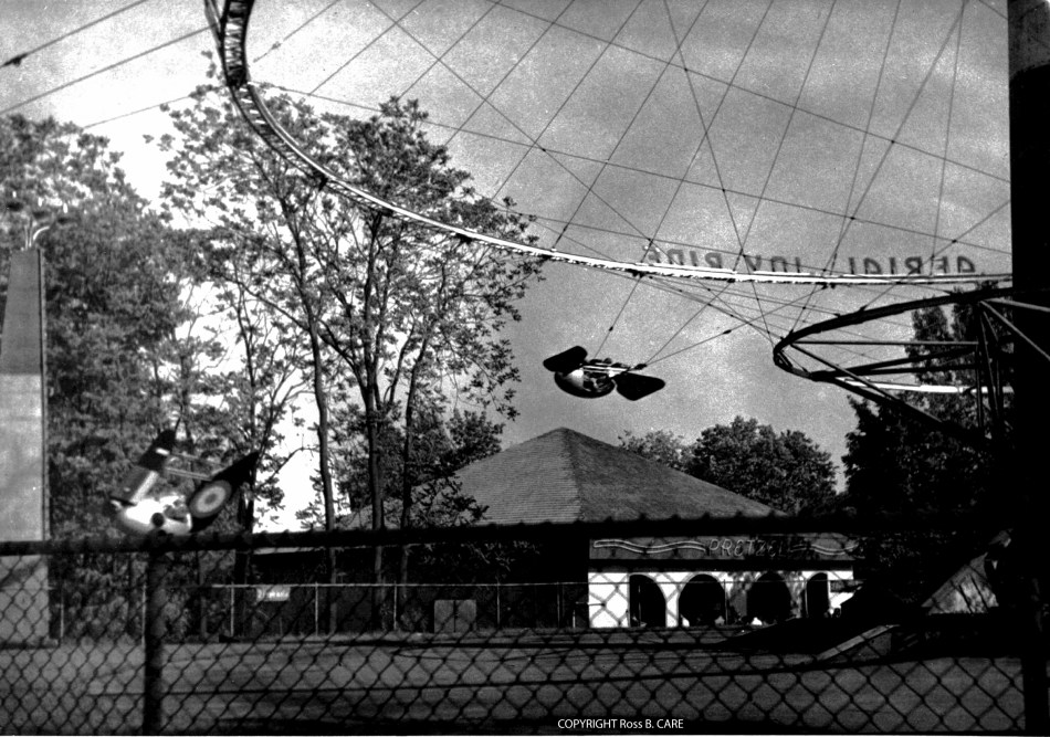 1950 circa Aerial Joy Ride. Used with permission of Ross B. Care.