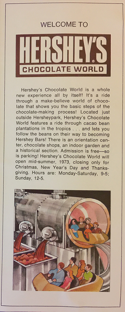 Info on Chocolate World