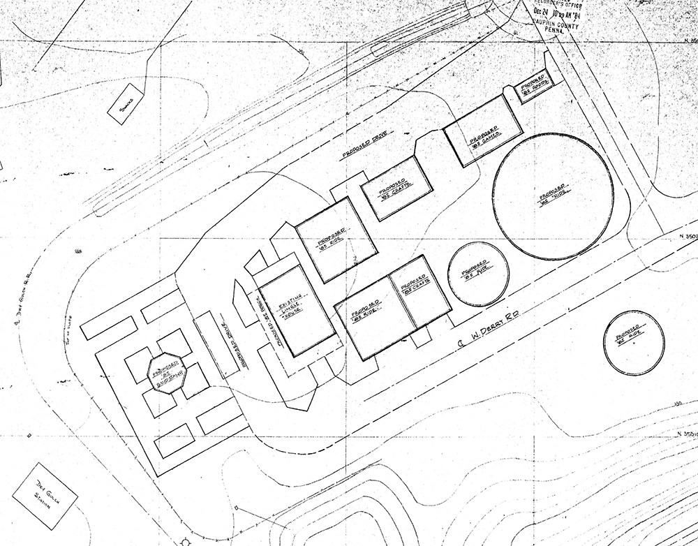 1985 Expansion Study Pioneer Food Court [proposed]