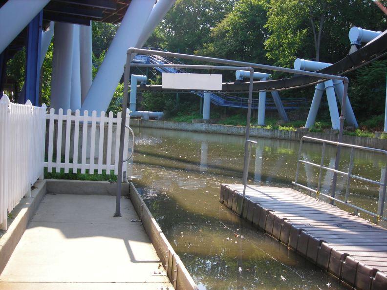 Paddleboats docks