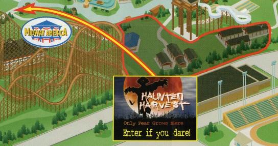 2004 Haunted Harvest Map