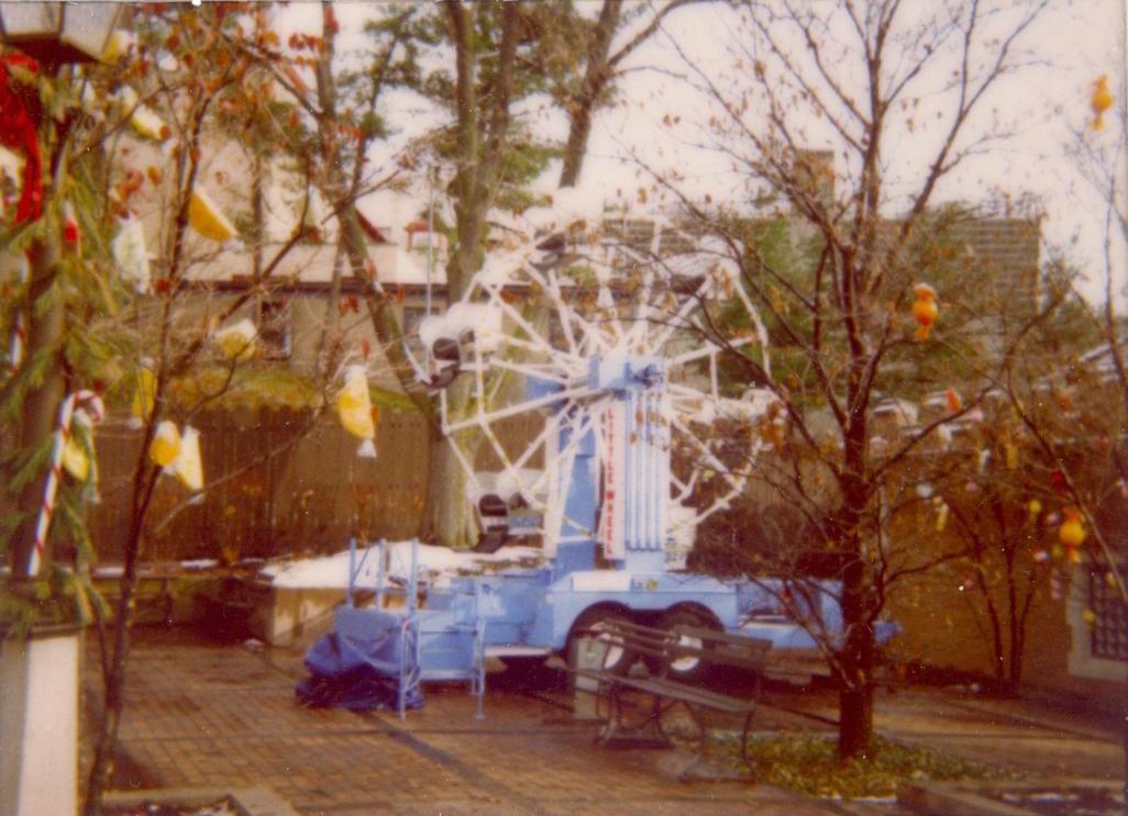 Little Wheel from Christmas Candylane, November-December 1983.