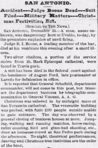 1883-12-26 The Galveston [TX] Daily News (p1)