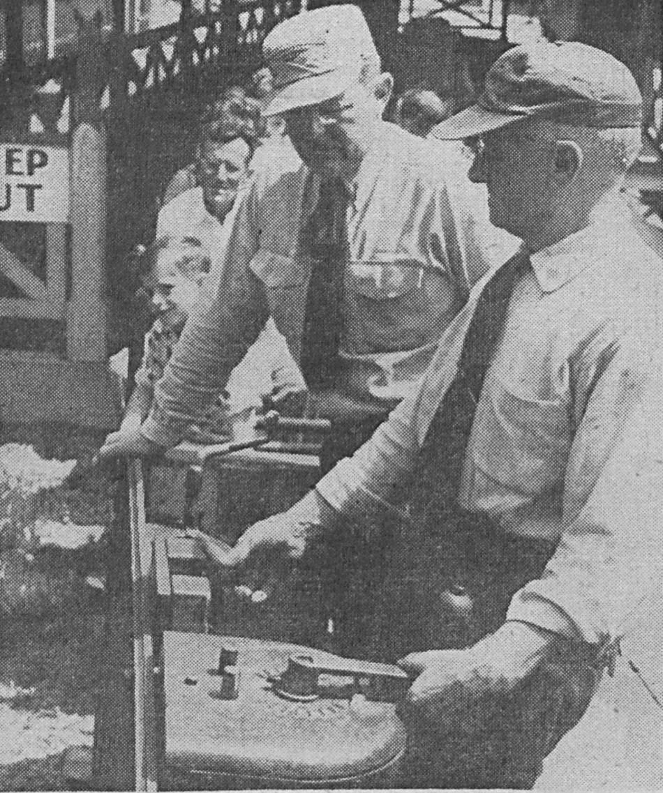 Miniature Railroad engineers