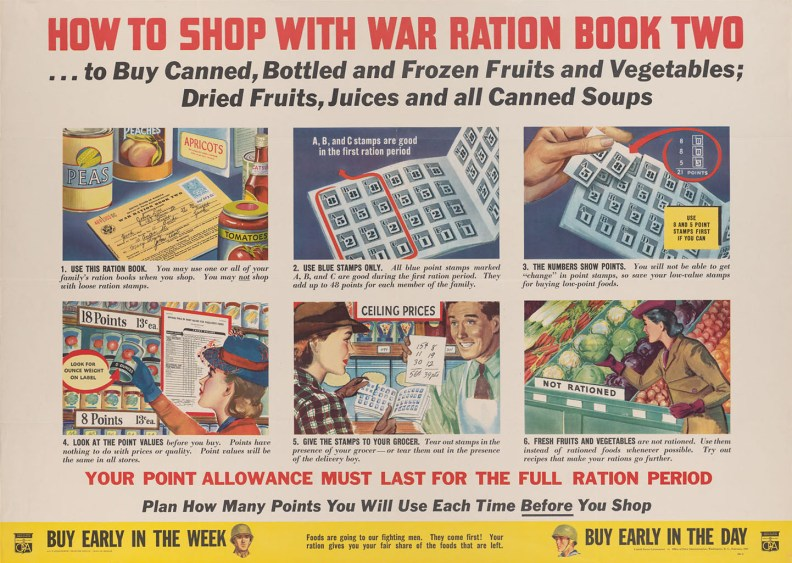 How to Shop With Ration Book Two - OPA
