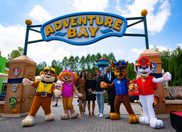 The heroic pups of PAW Patrol find a new home in Movie Park