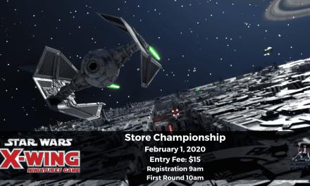 Star Wars X-Wing 2.0 Store Championship