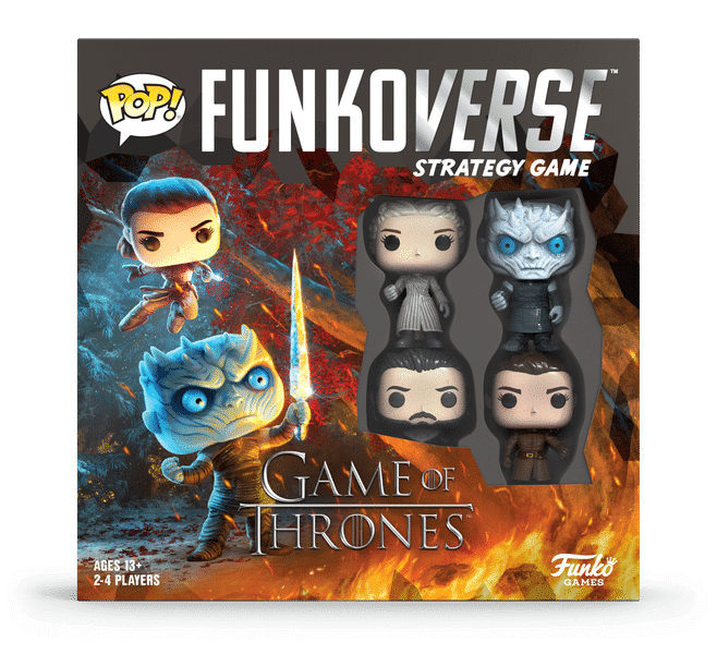 Pop! Funkoverse Game of Thrones Base Set