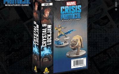 Marvel Crisis Protocol Crystal and Lockjaw