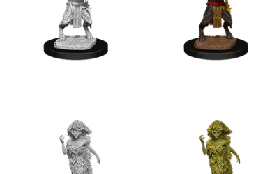 Nolzur's Marvelous Miniatures Satyr & Dryad Wave 11 90018