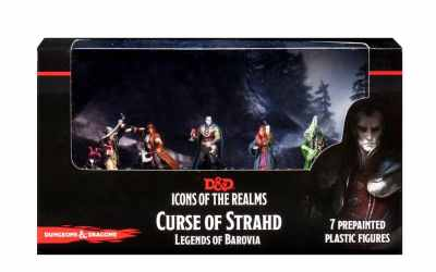 D&D Icons of the Realms Curse of Strahd Legends of Barovia