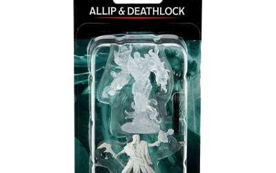 D&D Nolzur's Marvelous Miniatures: Allip & Deathlock Wave 15 90316