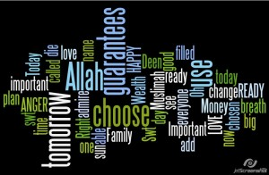 Oh Muslimah...have YOU thought about what is REALLY Important? aMuslimaDeen