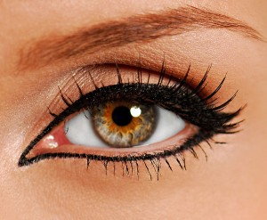 Oh Pretty Muslimah, Can we wear Mascara/Kohl or use Eye Drops? bigstockphoto woman close up eye false lash 1683030