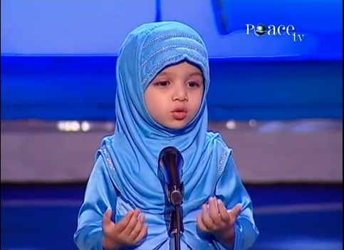 4 Year Old Girl Giving Speech - Masha Allah  Parents.... Be Jealous of What this Child can Do 4 Year Old Girl Giving Speech