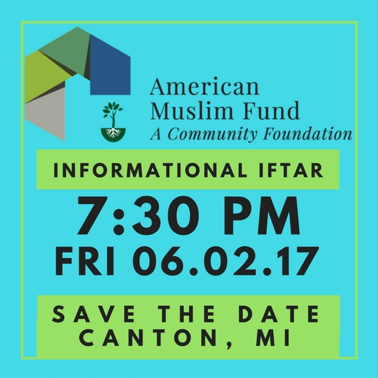 AMuslimFund MI SaveTheDate