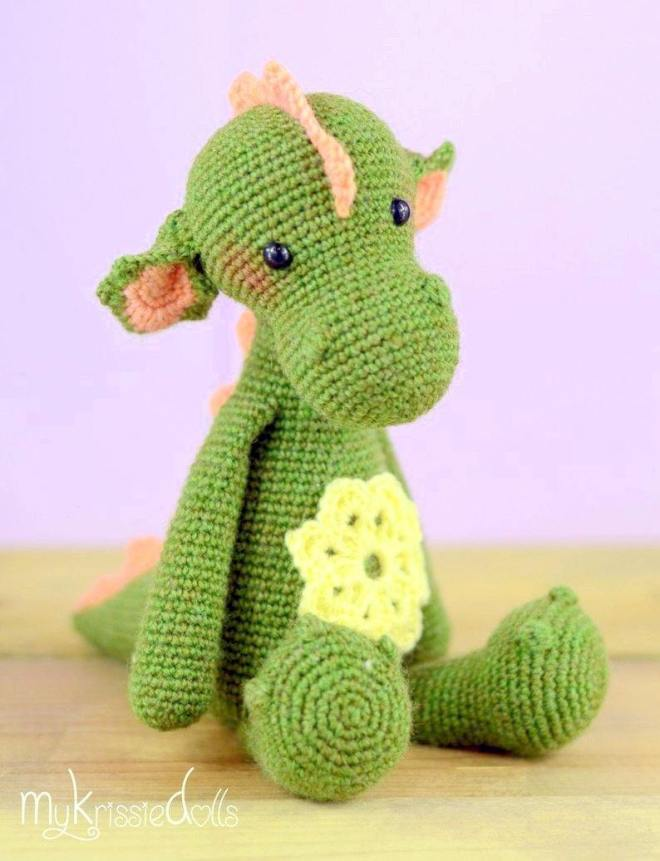 Tiny dragon amigurumi pattern - Amigurumi Today | 861x660