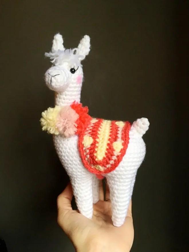 Free Amigurumi Llama Toy Softies Crochet Patterns | 880x660