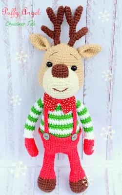 Cute Reindeer Amigurumi Free Pattern - Amigurumi Free Patterns | 400x250