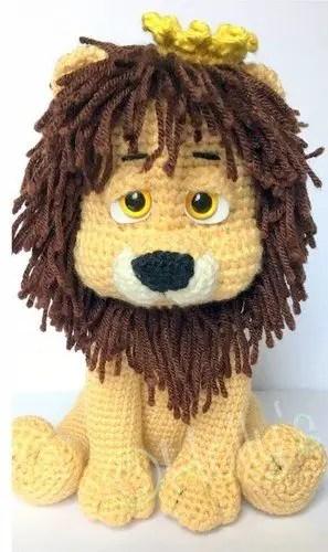 Free Lion Amigurumi Pattern Pattern - Crochet Pattern - Daisy and ... | 500x297