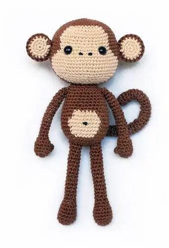 CUSTOM ORDER Mike the Monkey Amigurumi | Ganchillo, Amigurumi, Ganchillo  bebe | 500x341