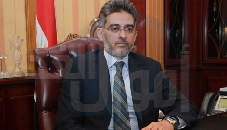 أحمد عبدالعزيز، رئيس مجلس الإدارة والعضو المنتدب لشركة مصر لتأمينات الحياة