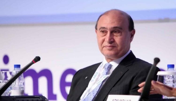 مهاب مميش رئيس هيئة قناة السويس ورئيس الهيئة العامة لتنمية المنطقة الاقتصادية للقناة