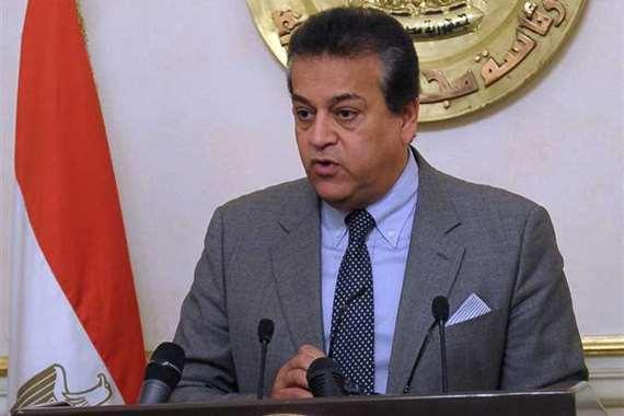 خالد عبد الغفّار وزير التعليم العالي والبحث العلمي