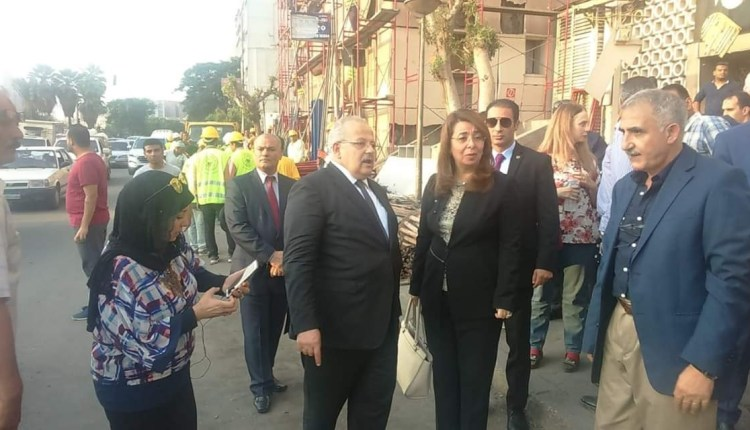 جانب من زيارة وزيرة التضامن الاجتماعي لمعهد الأورام
