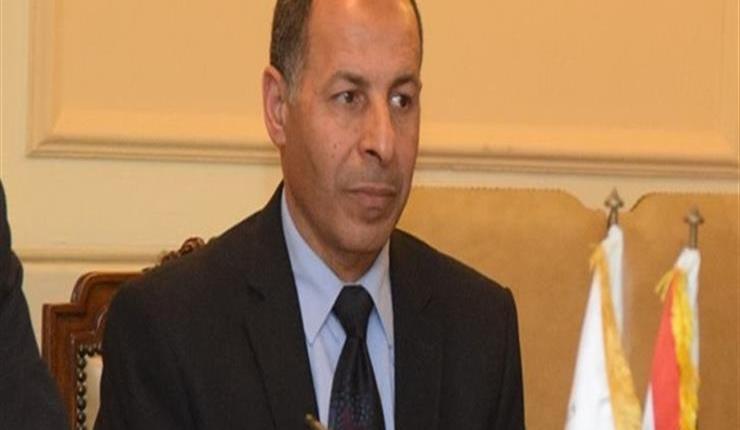 اللواء عبدالله منتصر رئيس مصلحة الدمغة والموازين التابعة لوزارة التموين