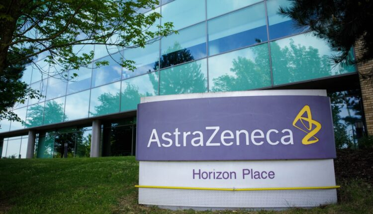 شعار شركة أسترازينيكا