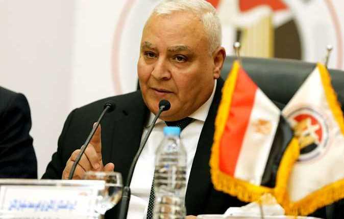 المستشار لاشين إبراهيم، رئيسالهيئة الوطنية للانتخابات
