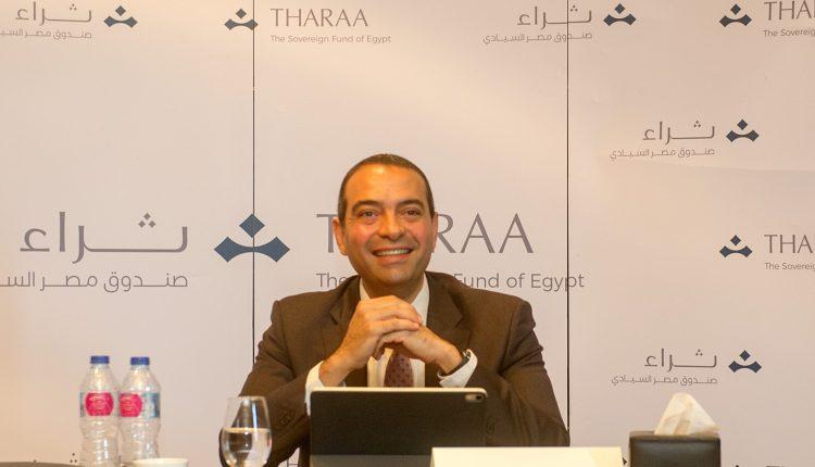 ايمن سليمان الرئيس التنفيذى لصندوق مصر السيادى