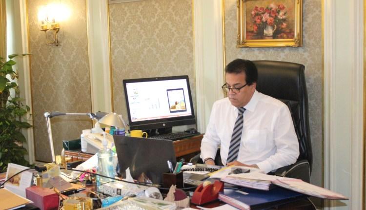 الدكتور خالد عبدالغفار، وزير التعليم العالى