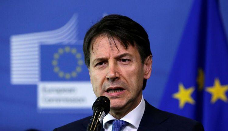 رئيس الوزراء الإيطالي جيسيبي كونتي